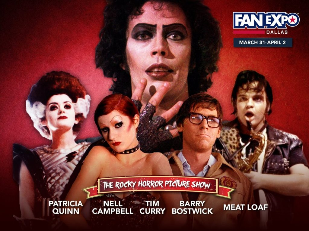 Patricia Quinn Fan Expo Dallas 2017