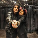 The Lady + The Godfather of Shock Rock!